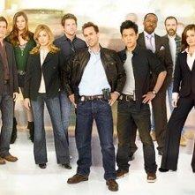 Una immagine promozionale del cast di FlashForward