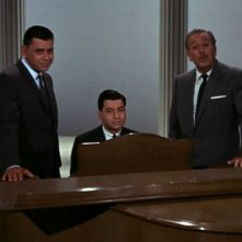 Robert B. Sherman, Richard M. Sherman e Walt Disney in una scena del documentario The Boys: The Sherman Brothers' Story