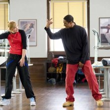 Shoshana Bush e Damon Wayans Jr. in una scena del film Dance Flick