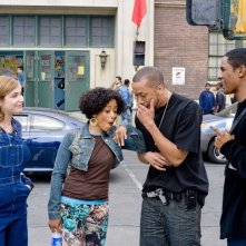 Shoshana Bush, Essence Atkins, Affion Crockett e Damon Wayans Jr. in una scena del film Dance Flick