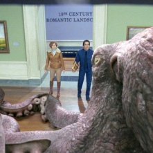 Amy Adams e Ben Stiller in un'immagine del film Una notte al museo 2: la fuga