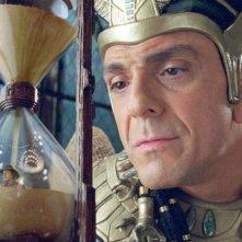Hank Azaria è il Faraone Kahmunrah nel film Una notte al museo 2: la fuga. Nella clessidra il 'cowboy' Owen Wilson