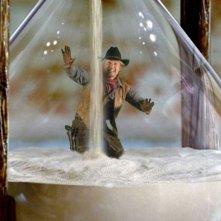 Il cowboy in miniatura interpretato da Owen Wilson in una scena del film Una notte al museo 2: la fuga.