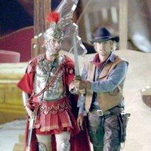 Steve Coogan e Owen Wilson in una scena del film Una notte al museo 2: la fuga.