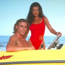 Wallpaper di 'Baywatch' con Yasmine Bleeth e Jaason Simmons