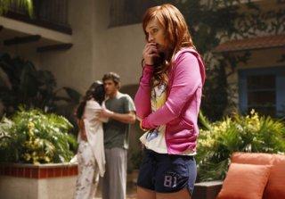 Jessica Lucas in una scena del nuovo Melrose Place