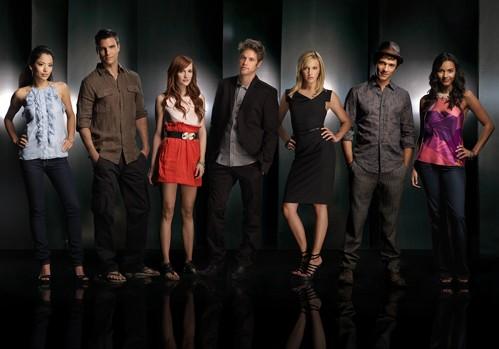 Una Foto Promozionale Del Cast Di Melrose Place 117737