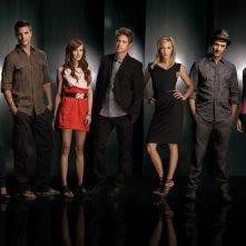 Una foto promozionale del cast di Melrose Place