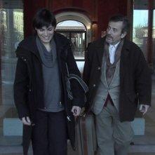 Valeria Solarino e Maurizio Micheli in un'immagine del film Valzer