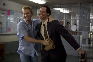 Ewan McGregor e Jim Carrey in un'immagine del film I Love You Phillip Morris