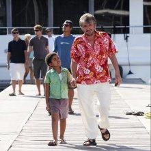 Gigi Proietti in una scena del film Un'estate ai Caraibi
