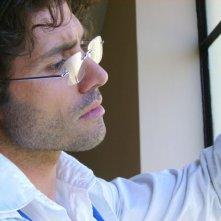 Giuseppe Morrone sul set (foto: Tea Falco)