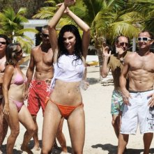 Jayde Nicole in un'immagine del film Un'estate ai Caraibi