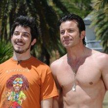 Paolo Ruffini e Paolo Conticini in un'immagine di Un'estate ai Caraibi