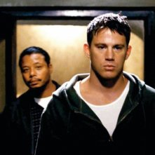 Terrence Howard e Channing Tatum in una sequenza del film Fighting