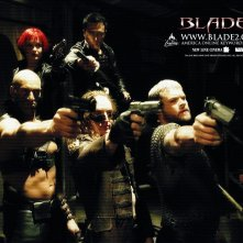 Un wallpaper del film Blade II