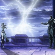 Una suggestiva immagine del film Ken il guerriero - La leggenda di Raoul