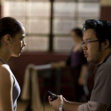 Il regista Kevin Tancharoen sul set di Fame