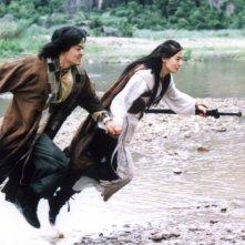 Lee Seo-jin e Yoon So-yi in un'immagine del film Il potere della spada