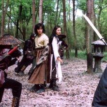 Lee Seo-jin e Yoon So-yi in una scena del film Il potere della spada