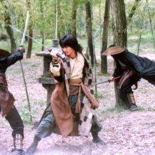 Lee Seo-jin in una scena del film Il potere della spada