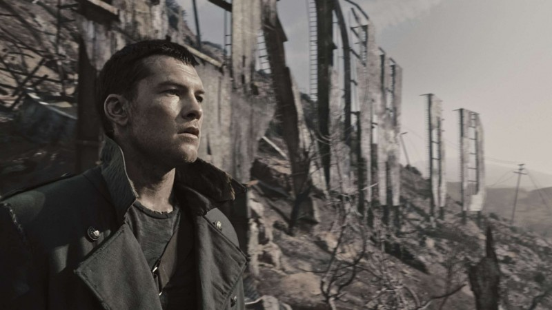 Sam Worthington In Una Scena Di Terminator Salvation 118116