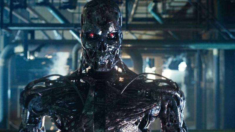 Un'immagine tratta dal film Terminator Salvation