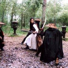 Yoon So-yi in una scena de Il potere della spada