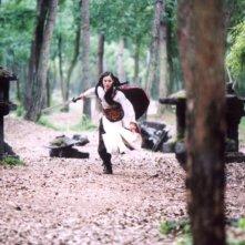 Yoon So-yi in una sequenza de Il potere della spada