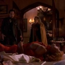 Anthony Hopkins, Sadie Frost e Richard E. Grant in Dracula, diretto da Francis Ford Coppola