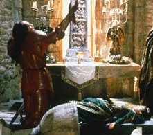 Gary Oldman e Winona Ryder in una sequenza di Dracula di Bram Stoker