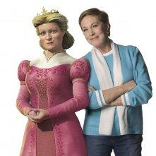 Julie Andrews è la doppiatrice della Regina Lillian nel film 'Shrek the Third'