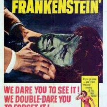 Locandina inglese de La vendetta di Frankenstein