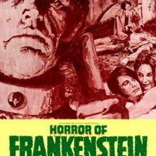 Poster inglese di Gli orrori di Frankenstein