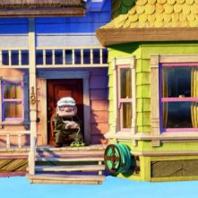 Un'immagine del film d'animazione Up