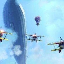 Un'immagine del film Up, il nuovo capolavoro della Pixar