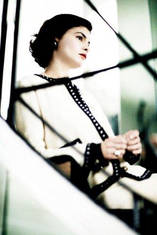 Audrey Tautou interpreta la stilista Gabrielle 'Coco' Chanel nel film Coco avant Chanel - L'amore prima del mito