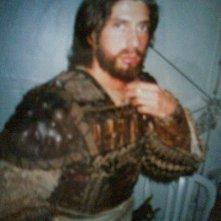 Germano Di Renzo sul set de La Passione di Cristo, nel quale ha interpretato una guardia del Tempio di Gerusalemme