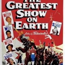 La locandina di Il più grande spettacolo del mondo