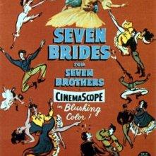 La locandina di Sette spose per sette fratelli