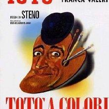 La locandina di Totò a colori