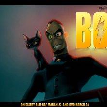 Un wallpaper di Dr. Calico per pubblicizzare l'uscita in dvd e blu-ray del film 'Bolt'