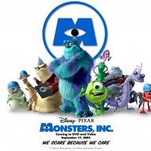Wallpaper di gruppo per il film Monsters Inc.