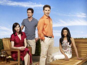 Un'immagine promozionale del cast di Royal Pains