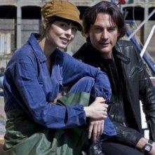 Alessandra Mastronardi e Roberto Farnesi nella fiction Mediaset Non smettere di sognare