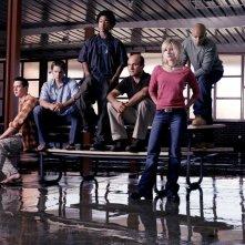 Foto promo del cast della prima serie di Veronica Mars