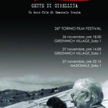 La locandina di Earthquake '68 - Gente di Gibellina