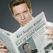 Una foto promozionale di Damian Lewis(Charlie Crews) per la prima season di 'Life'