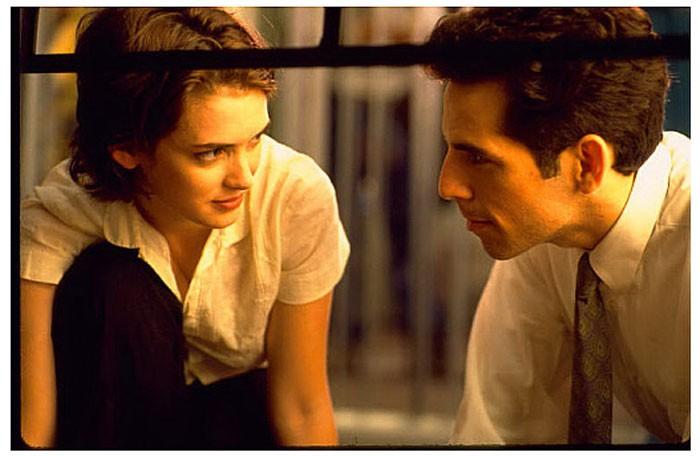 Ben Stiller e Winona Ryder in una scena del film Giovani, carini e disoccupati