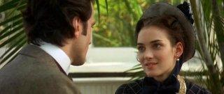 Daniel Day-Lewis e Winona Ryder nel film L'etàdell'innocenza